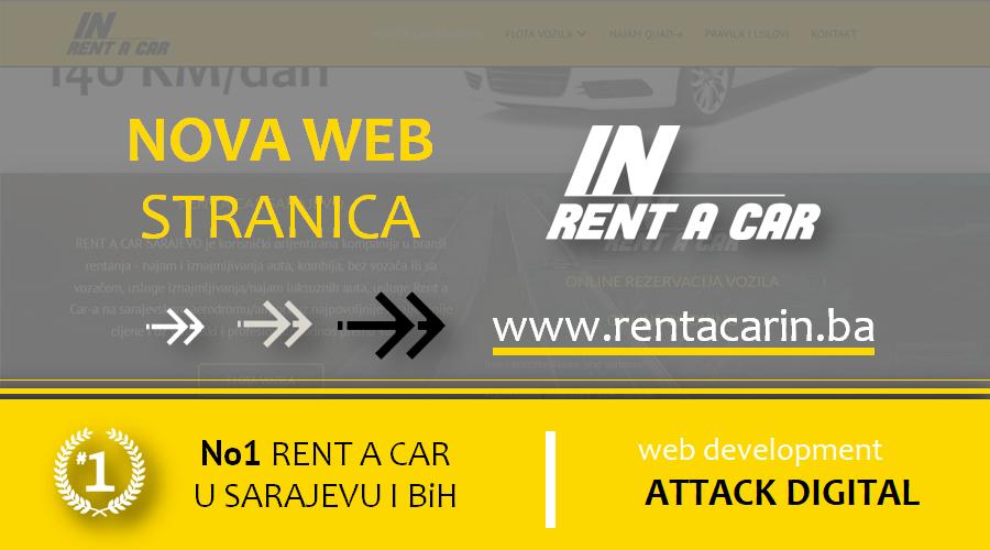 IZRADA WEB STRANICA SARAJEVO